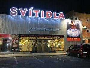 Prodejna osvětlení České Budějovice